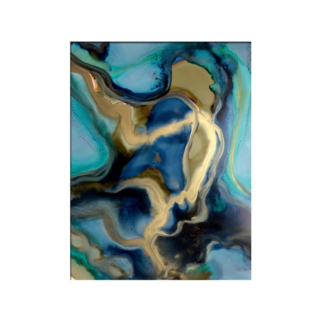 'ALCHEMY' Original Abstract Painting by Linnea Heide - Image 1 of 5