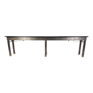 Long Industrial Modern Console Table