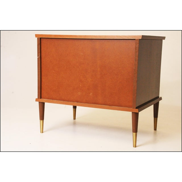 Mid-Century Modern Wood Record Cabinet - Image 11 of 11