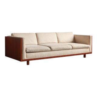 Vintage Mid Century Millard Sheets Three Seater Sofa For Sale