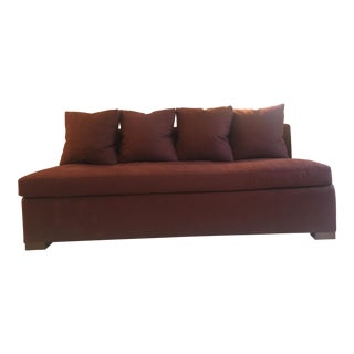 Century Furniture Thomas O'Brien Brooks Armless Sofa For Sale