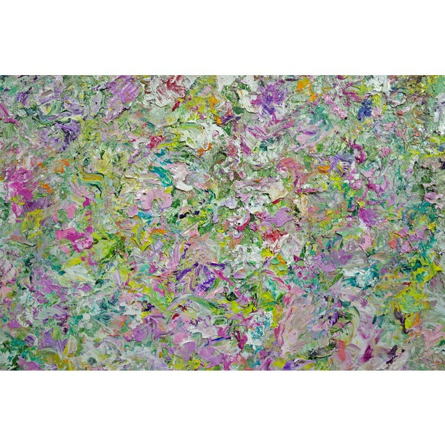 """Garden 2"" Original Abstract Painting - Image 3 of 4"