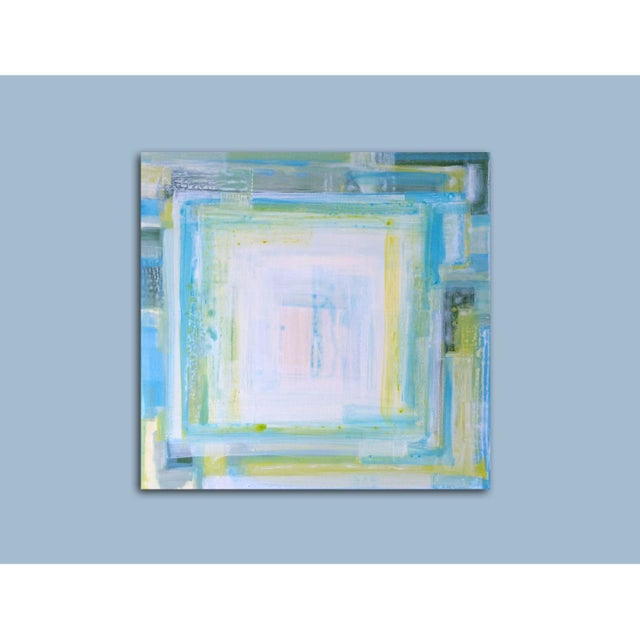 """St CROiX"", Abstract Painting by Linnea Heide - Image 5 of 6"