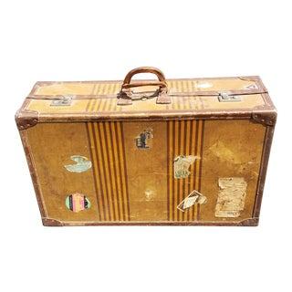 Antique Verlin Suitcase, Belgium For Sale