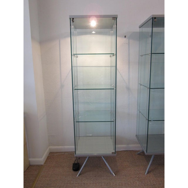 Glass Display Cabinets - A Pair - Image 11 of 11