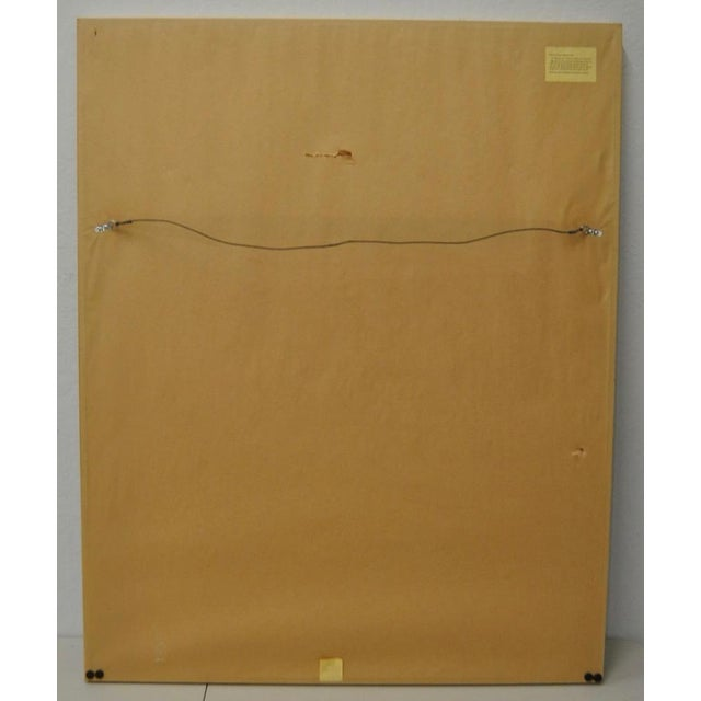 """Red Circa 1971 """"Coca Cola"""" Signed Color Lithograph By Jasper Johns For Sale - Image 8 of 9"""