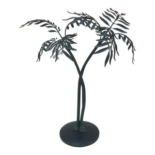 Metal Palm Tree Sculpture For Sale
