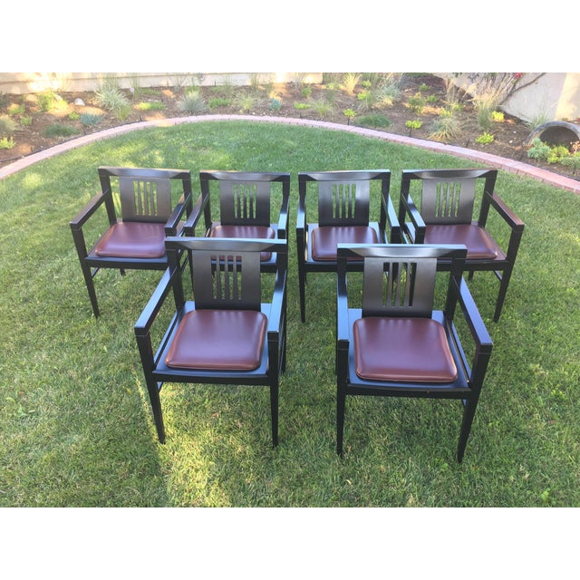 Stendig Italian Stiletto Armchairs - Set of 6 - Image 2 of 9