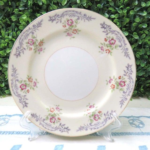 Ceramic Vintage Mismatched Appetizer Plates, Set of 8 For Sale - Image 7 of 11