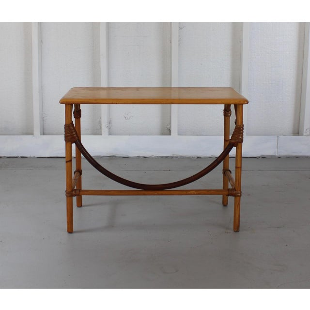 Heywood-Wakefield Heywood-Wakefield Ashcraft Side Table 111a For Sale - Image 4 of 9