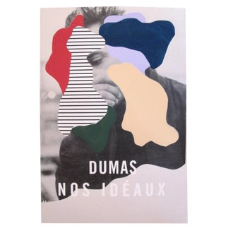 2018 Contemporary Music Poster - Dumas Nos Idéaux For Sale