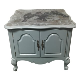French Provincial Blue Jay Table