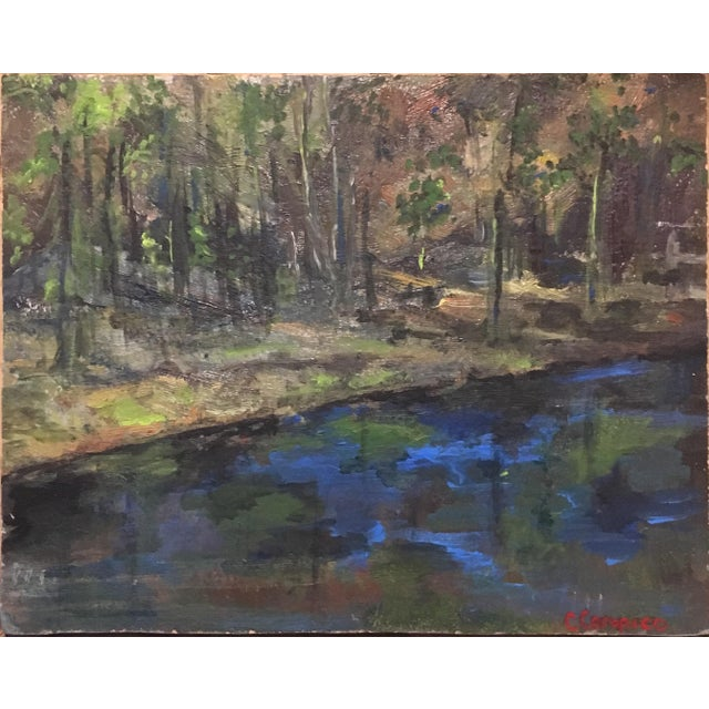 Upstate NY Landscape Painting For Sale In Philadelphia - Image 6 of 8