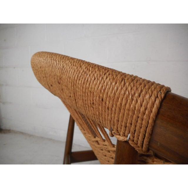 """Danish Modern """"Ringstol"""" Hoop Chair by Illum Wikkelsø For Sale - Image 9 of 12"""