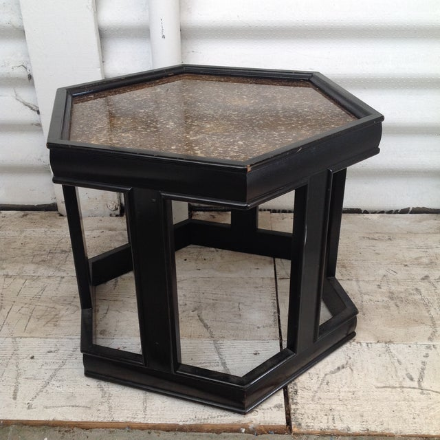 John Keal Black Salt Table - Image 3 of 7