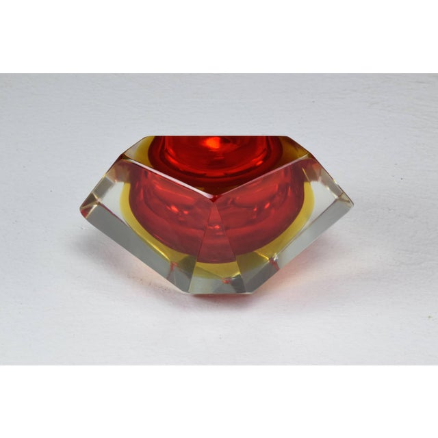 Italian Midcentury Murano Bowl by Flavio Poli, 1950s For Sale - Image 10 of 12