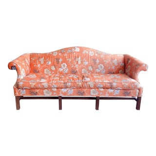 Vintage Baker Camelback Sofa For Sale