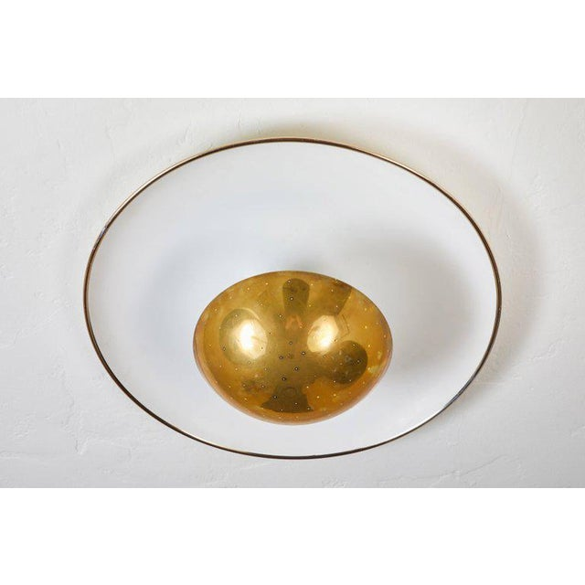 1950s Gino Sarfatti Ceiling Lamp Model #155 for Arteluce For Sale In Los Angeles - Image 6 of 11