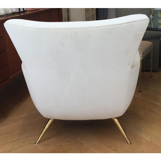 Henry Glass 1950s Mid-Century Modern Henry Glass Lounge Armchair For Sale - Image 4 of 10