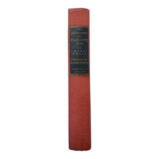 The Adventures of Huckleberry Finn by Mark Twain, 1948 Hardcover Edition For Sale