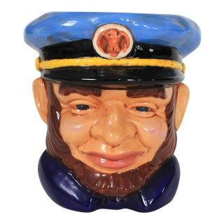 Sea Captain Nautical Planter