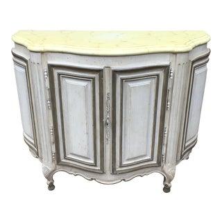 Baker Furniture Demilune Cabinet