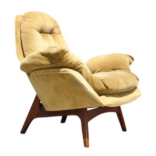 1960's Adrian Pearsall Mid Century Bird Arm Chair For Sale