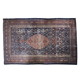 "Vintage Persian Bibikabad Carpet - 11'6"" X 16'7"" For Sale"