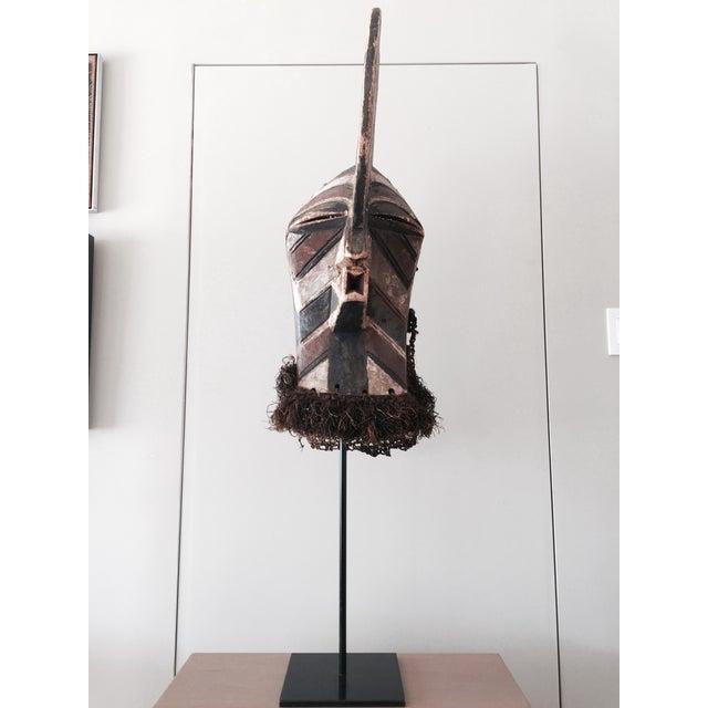 """Songye Kifwebe """"Police"""" Tribal Mask - Image 2 of 4"""