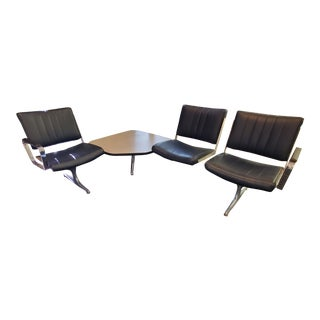 Mid-Century Modern Chromcraft Airport Lounge Set For Sale