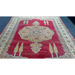 Large Red Antique Turkish Sivas Rug Preview