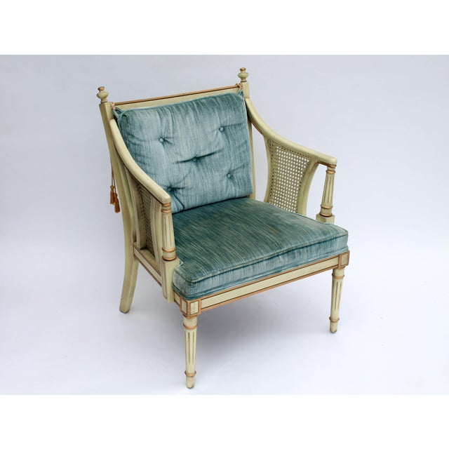 Caned Accent Chair - Image 4 of 9