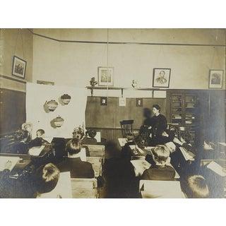 Circa 1900 School Room Art Class Photograph For Sale