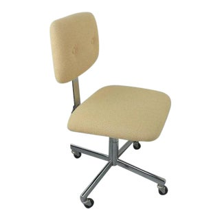 Mid-Century Modern Rolling Office Chair