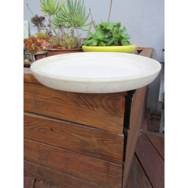 Vintage Ceramic Planter Drip Saucer - Image 4 of 8