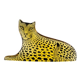 Op Art Palatnik Lucite Leopard Sculpture For Sale