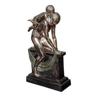 French Art Deco Bronze by Abel R. Philippe For Sale