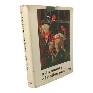 """A Dictionary of Italian Painting"" Art Book"