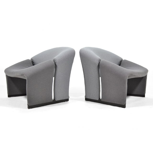 Pair of Pierre Paulin Model F580 Lounge Chairs by Artifort For Sale - Image 11 of 12