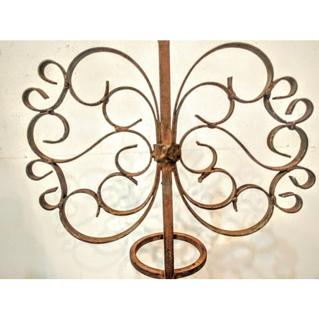 Gothic Wrought Iron Candle Holder - Image 7 of 7