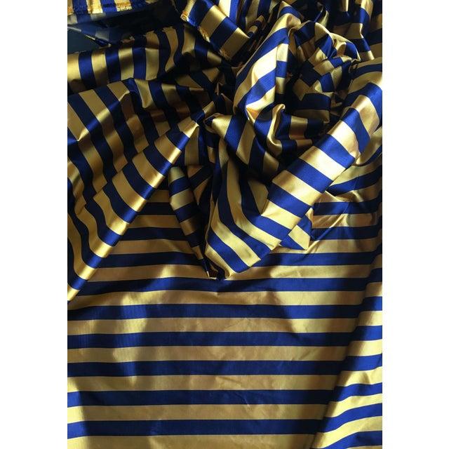 Ralph Lauren Tie Silk in a Classic Club Stripe - Image 2 of 4