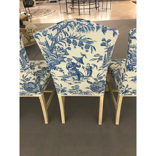 Century Furniture 1990s Vintage Century Chinoiserie Chippendale Dining Chairs- Set of 8 For Sale - Image 4 of 11