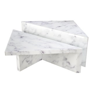 Grace Modern Coffee Table - a Pair For Sale