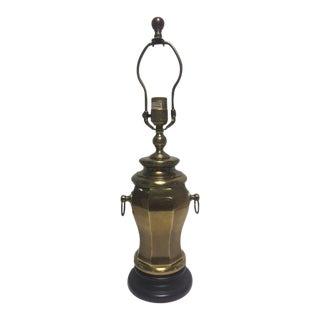 Hollywood Regency Chapman Brass Lamp