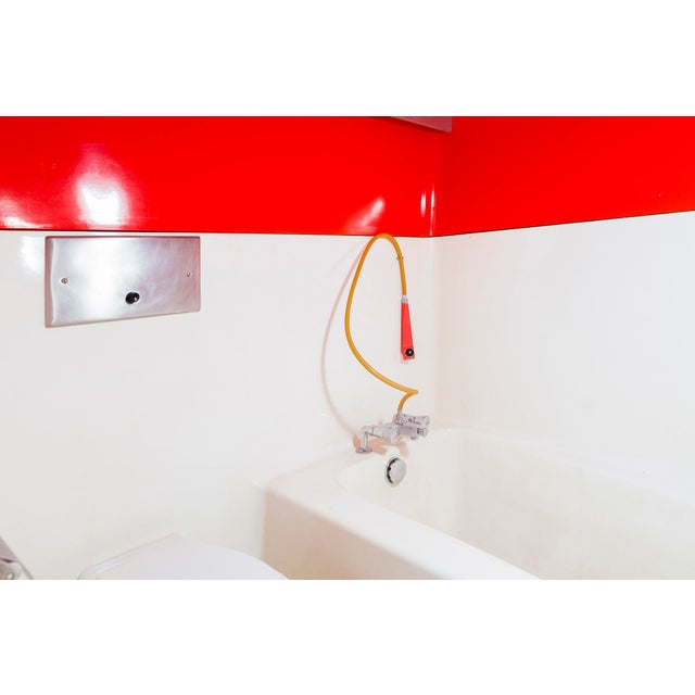 1970s Les Arcs 1800 Prefabricated Bathroom Unit by Charlotte Perriand For Sale - Image 5 of 12