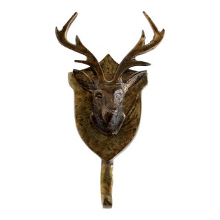 Brass Stag Hook For Sale