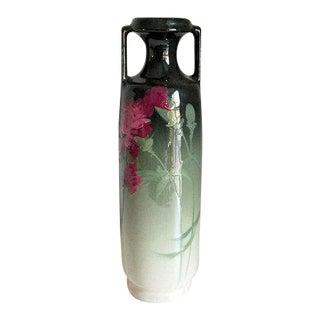 Antique Weller Pottery Eocean Vase For Sale