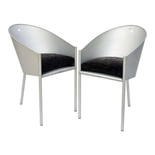 Late 20th Century Vintage Sculptural Chairs by Philippe Starck- A Pair For Sale
