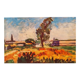 "1940s Henri Matisse, ""Toulouse Landscape"" Original Period Swiss Lithograph For Sale"