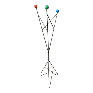 Post Mid-Century French Coat Hanger by Roger Feraud For Sale